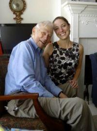 Luke and our eldest granddaughter, Sarah