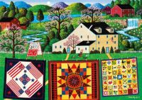 The Quilt Maker Lady by Charles Wysocki