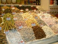 Sweet Stall. Istanbul Market