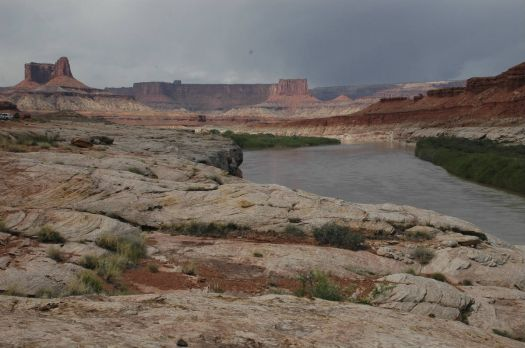 Canyonlands from the White Rim Trail