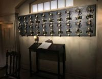 Call Bell Board, Downton Abbey Exhibit