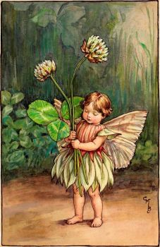 The White Clover Fairy (smaller size)