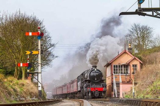 43106 on the Severn valley railway
