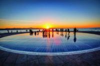 Zadar . Greetings to the sun