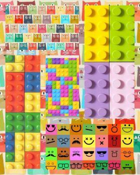 CATS, SMILES & LEGO