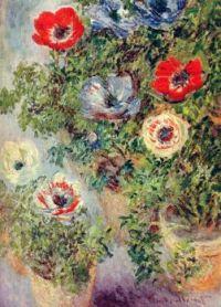 Stilll Life with Anemones - Zátiší se sasankami  - 1885