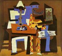 Pablo Picasso - Three Musicians - 1921