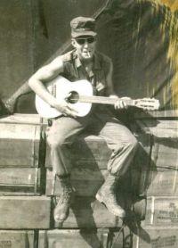 THEME:  Vintage Photos   Thomas Edward Binkley, Marine, Viet Nam, probably 1969