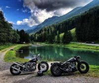 Motorcycle Pond