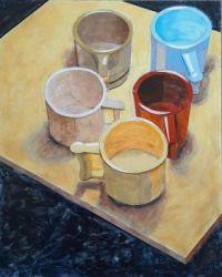 """""""5 mugs"""""""