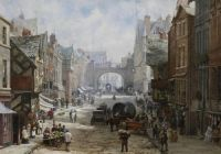 Eastgate Street, Chester, by Louise Rayner