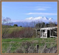 Mt Ruapehu rural scenery.