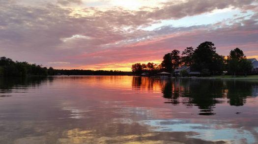 Sunset on Lake Martin 2