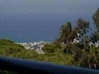 The Bay of Haifa from Mt. Carmel