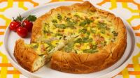 Ham and Canadian Brie Tart