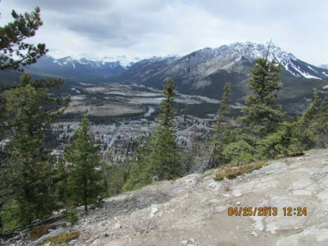 Banff and the Bow Valley From Tunnel Mountain