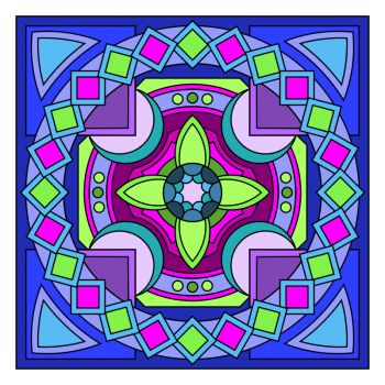 Solve mandala3 jigsaw puzzle online with 169 pieces
