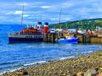 HDR of the Paddle Steamer Waverley, at Largs - 11th Jul 2007