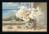 Peonies and Shells