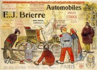 1890s c Automobiles E. J. Brierre by E. R. Fosse