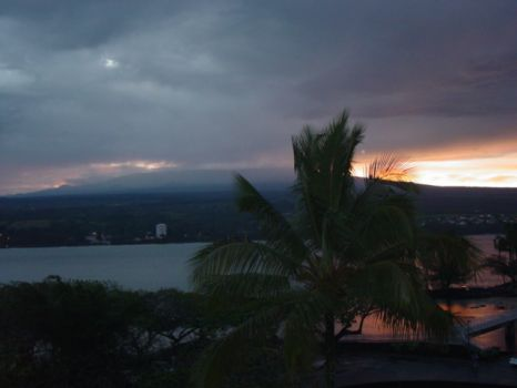 Night view of Hilo, Hi