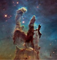 New Eagle Nebula from Hubble
