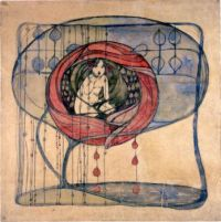 'Girl in a Tree' by Frances Macdonald