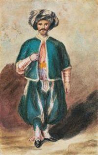Eugène Delacroix (French, 1798–1863), Turkish Officer