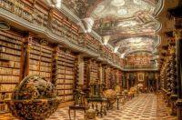 Beautiful library - Prague