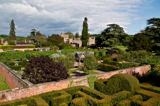 Hampton Court Gardens, Hope Under Dinmore, Herefordshire,  Photo by Ian Capper