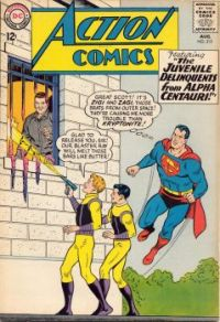 Superman versus Juvenile Delinquents