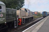 D9531 D9537 Heywood, East Lancs Railway 26/09/2015