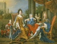 James II with his second wife, Mary of Modena