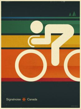 Canadian Cycling Poster