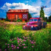 Summerfields Painting by Debra and Dave Vanderlaan