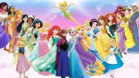 Disney Princesses and Other Female Characters