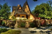 8. The Spadena House, Beverly Hills, California aka The Witch's House
