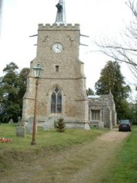 hinxton church