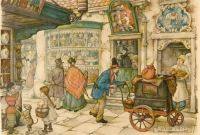 Dutch artist Anton Pieck #32