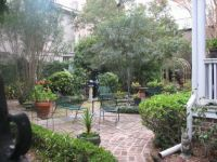 Peaceful courtyard, Charleston SC, Nov 2012