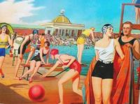 Themes Vintage illustrations/picture - Summer