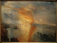 J.M.W. Turner, The Burning of the Houses of Lords and Commons (1834–1835)