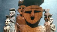 Pre colombian totems