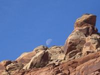 Moon at Arches NP