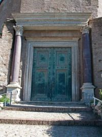 Bronze Doors at the Forum