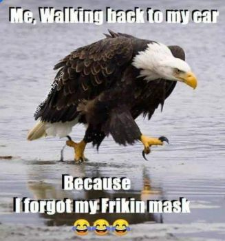 Forgot your mask