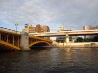 Boat ride down the Sumida River
