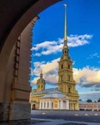 Peter and Paul fortress in Saint Peterburg, Russia  6044