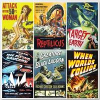 1950s SciFi Movie Posters