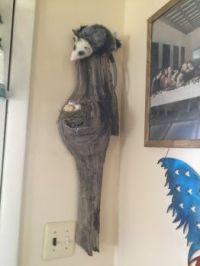 Found wood